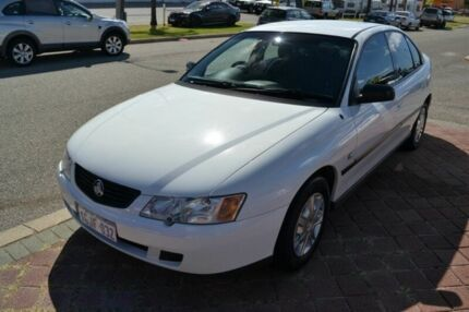 2004 Holden Commodore VY Exec White 4 Speed Automatic Sedan East Rockingham Rockingham Area Preview