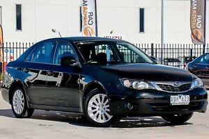 2009 Subaru Impreza G3 MY09 R AWD Black 4 Speed Sports Automatic Sedan Pakenham Cardinia Area Preview