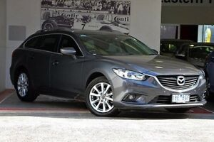 2013 Mazda 6 GJ1031 Touring SKYACTIV-Drive Grey 6 Speed Sports Automatic Wagon Doncaster Manningham Area Preview