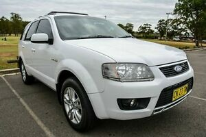 2010 Ford Territory SY Mkii TS (4x4) White 6 Speed Auto Seq Sportshift Wagon Wetherill Park Fairfield Area Preview