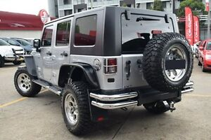 2010 Jeep Wrangler Unlimited JK MY09 Renegade (4x4) Silver 5 Speed Automatic Hardtop Homebush Strathfield Area Preview
