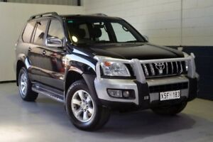 2008 Toyota Landcruiser Prado KDJ120R GXL Black 5 Speed Automatic Wagon