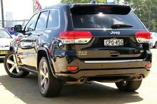 2013 Jeep Grand Cherokee WK MY2014 Overland Black 8 Speed Sports Automatic Wagon Greenacre Bankstown Area Preview
