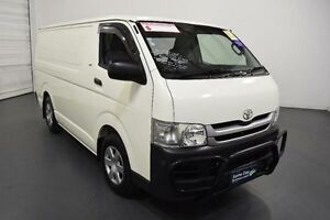 2010 Toyota Hiace TRH201R MY07 Upgrade LWB French Vanilla 4 Speed Automatic Van Moorabbin Kingston Area Preview