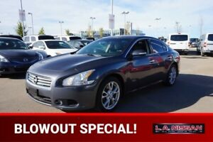 2012 Nissan Maxima SV 3.5L V6 Accident Free,  Leather,  Heated S