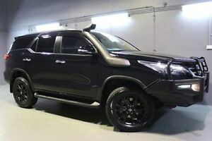 2015 Toyota Fortuner GUN156R Crusade Black 6 Speed Automatic Wagon Invermay Launceston Area Preview