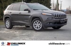 2016 Jeep Cherokee North ONE OWNER, LOW KM, BC CAR
