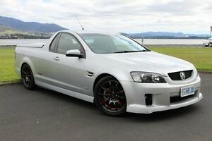 2009 Holden Ute VE MY09.5 SS V Silver 6 Speed Manual Utility Invermay Launceston Area Preview