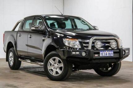 2013 Ford Ranger XLT - Hi-Rider XLT - Hi-Rider Black Manual Dual Cab Utility
