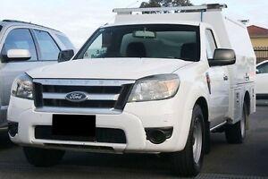 2009 Ford Ranger PK XL White 5 Speed Manual Utility Preston Darebin Area Preview