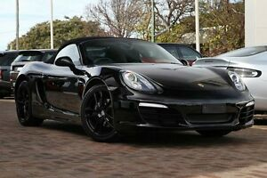 2013 Porsche Boxster 981 Black 6 Speed Manual Convertible Osborne Park Stirling Area Preview