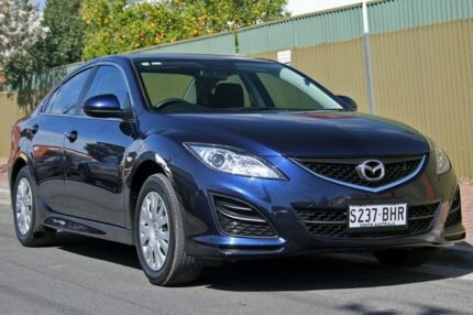 2010 Mazda 6 GH1052 MY10 Classic Blue 6 Speed Manual Sedan Glenelg East Holdfast Bay Preview