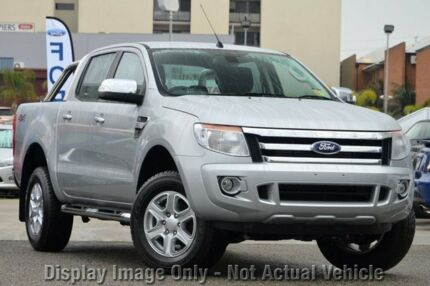 Ford Ranger 4x4 2014 Orange 2014 Ford Ranger 4x4 pu Xlt
