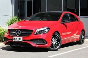 2016 Mercedes-Benz A180 W176 807MY D-CT Red 7 Speed Sports Automatic Dual Clutch Hatchback Hilton West Torrens Area Preview
