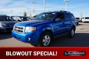 2011 Ford Escape 4X4 XLT Accident Free,  A/C,