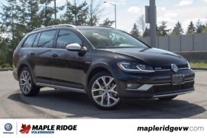 2018 Volkswagen Golf Alltrack ONE OWNER, NO ACCIDENTS, LOCAL CAR
