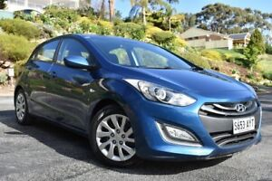 2013 Hyundai i30 GD Active Blue 6 Speed Sports Automatic Hatchback St Marys Mitcham Area Preview