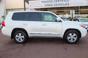 2012 Toyota Landcruiser VDJ200R MY12 Sahara Crystal Pearl 6 Speed Sports Automatic Wagon Wangara Wanneroo Area Preview