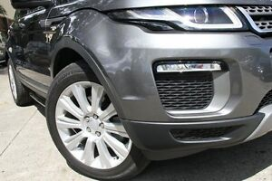 2016 Land Rover Evoque LV MY17 TD4 180 SE Grey 9 Speed Automatic Wagon Petersham Marrickville Area Preview