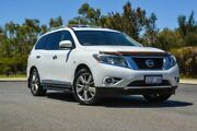 2014 Nissan Pathfinder R52 MY14 Ti X-tronic 2WD White 1 Speed Constant Variable Wagon Wilson Canning Area Preview