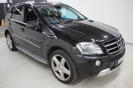 2011 Mercedes-Benz ML350 CDI W164 MY11 Black 7 Speed Sports Automatic Wagon