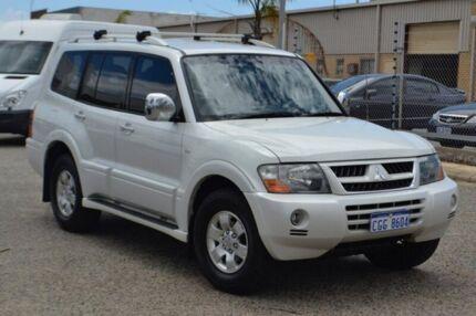 2004 Mitsubishi Pajero NP MY04 GLS 21ST Anniversary White 5 Speed Sports Automatic Wagon
