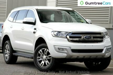 2016 Ford Everest UA Trend 4WD White 6 Speed Sports Automatic Wagon Rockingham Rockingham Area Preview