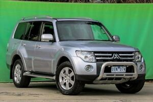 2007 Mitsubishi Pajero NS VR-X Silver 5 Speed Sports Automatic Wagon Ringwood East Maroondah Area Preview