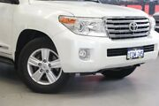 2014 Toyota Landcruiser VDJ200R MY13 Sahara (4x4) Crystal Pearl 6 Speed Automatic Wagon Rockingham Rockingham Area Preview