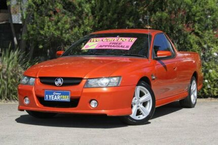 2007 Holden Ute VZ MY06 SS Orange 4 Speed Automatic Utility