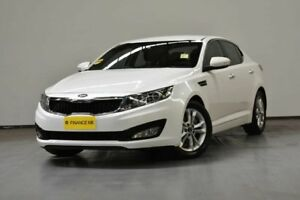 2014 Kia Optima TF MY14 SI White 6 Speed Sports Automatic Sedan