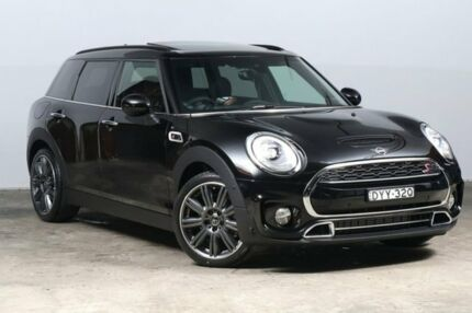 2018 Mini Clubman F54 Cooper S Steptronic Midnight Black 8 Speed Sports Automatic Wagon Alexandria Inner Sydney Preview