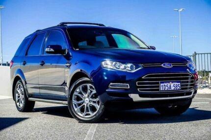 2011 Ford Territory SZ Titanium (4x4) Blue 6 Speed Automatic Wagon