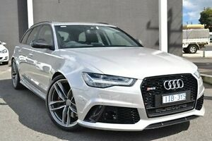 2015 Audi RS6 4G MY15 Avant Tiptronic Quattro Silver 8 Speed Sports Automatic Wagon Burwood Whitehorse Area Preview