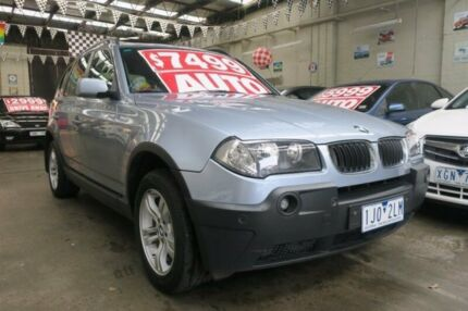 2004 BMW X3 E83 3.0I 5 Speed Auto Steptronic Wagon