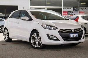2013 Hyundai i30 GD Premium White 6 Speed Sports Automatic Hatchback Osborne Park Stirling Area Preview