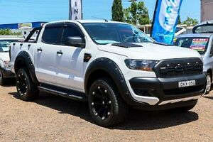 2016 Ford Ranger PX MkII XL Hi-Rider Utility Double Cab 4dr Spts Au White Sports Automatic Utility Minchinbury Blacktown Area Preview