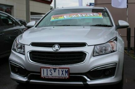 2016 Holden Cruze JH Series II MY16 SRI Z-Series Silver 6 Speed Sports Automatic Sedan