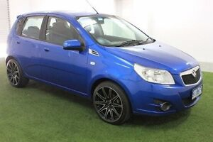 2010 Holden Barina TK MY10 Blue 5 Speed Manual Hatchback Moonah Glenorchy Area Preview