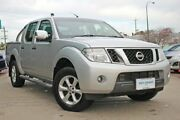 2012 Nissan Navara D40 S5 MY12 ST-X 550 Silver 7 Speed Sports Automatic Utility Victoria Park Victoria Park Area Preview