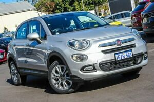 2015 Fiat 500X 334 Pop Star DDCT Silver 6 Speed Sports Automatic Dual Clutch Wagon Bayswater Bayswater Area Preview