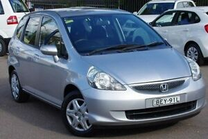 2007 Honda Jazz GD VTi Grey 7 Speed Constant Variable Hatchback Blacktown Blacktown Area Preview