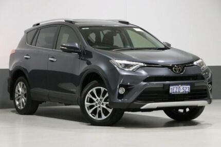 2016 Toyota RAV4 ALA49R MY16 Cruiser (4x4) Graphite 6 Speed Automatic Wagon Bentley Canning Area Preview