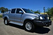 2014 Toyota Hilux KUN26R SR5 Grey 5 Speed Manual Dual Cab Blair Athol Port Adelaide Area Preview
