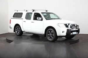 2012 Nissan Navara D40 MY12 ST (4x4) White 5 Speed Automatic Dual Cab Pick-up Mulgrave Hawkesbury Area Preview