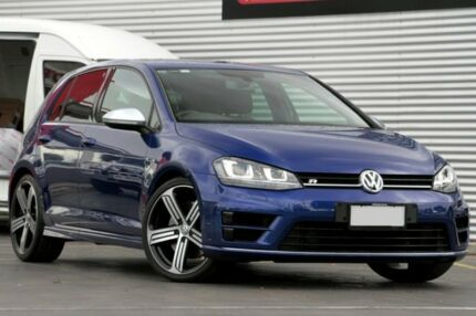 2015 Volkswagen Golf VII MY15 R DSG 4MOTION Blue 6 Speed Sports Automatic Dual Clutch Hatchback Adelaide CBD Adelaide City Preview