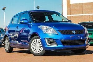 2014 Suzuki Swift FZ MY14 GL Blue 4 Speed Automatic Hatchback Fremantle Fremantle Area Preview