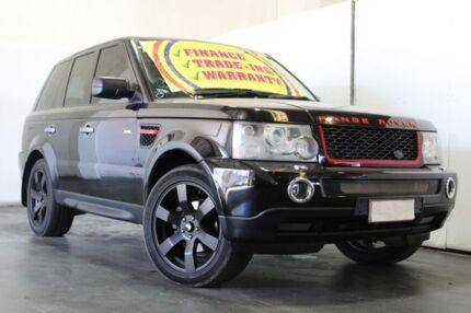 2005 Land Rover Range Rover Sport 2.7 TDV6 Black 6 Speed Auto Sequential Wagon Underwood Logan Area Preview
