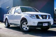 2011 Nissan Navara D40 MY11 ST White 6 Speed Manual Utility Osborne Park Stirling Area Preview