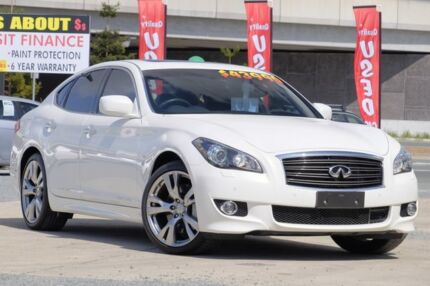 2014 Infiniti Q70 Y51 S Premium White 7 Speed Sports Automatic Sedan Tweed Heads South Tweed Heads Area Preview